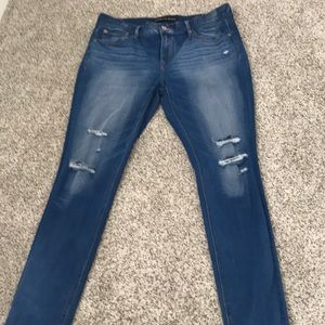 Womens mid rise jeans